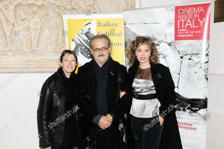 Stock Photo of Isabella Sandri, Giuseppe Gaudino and Valeria Golino