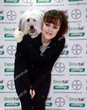 Stock Image of Ashleigh and Pudsey