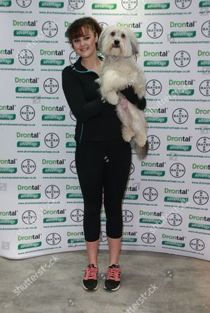 Stock Photo of Ashleigh and Pudsey
