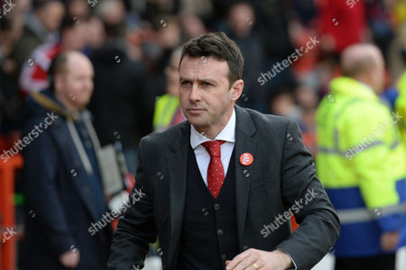 Nottingham Forest manager Dougie Freedman during the Sky Bet Championship match between Nottingham Forest and Sheffield Wednesday at the City Ground, Nottingham