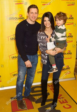 Stock Picture of James Shepherd, Natalie Anderson and Freddie
