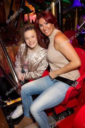 Lauren Simon and daughter