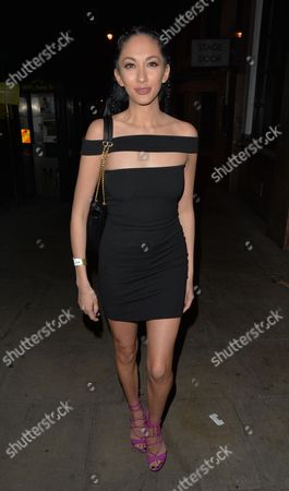 Stock Picture of Talitha Minnis at Cafe de Paris