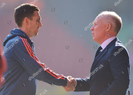 Stewart Downing of Middlesbrough talks with sky Sports reporter David Craig  during the sky BET Championship match between Charlton Athletic and Middlesbrough played at The Valley, Charlton on March 13th 2016