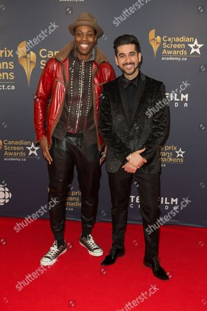 Editorial image of Canadian Screen Awards, Toronto, Canada - 13 Mar 2016