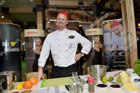Stock Picture of TV Chef Andreas Studer