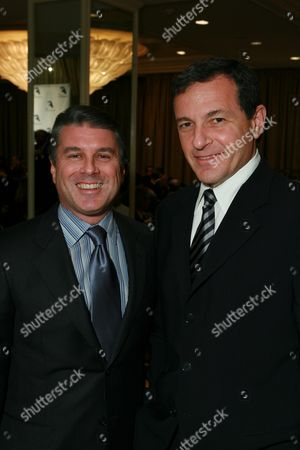 Ted Harbert and Robert Iger