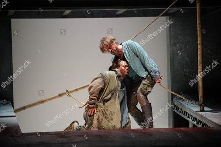 'Iphigenie en Tauride' -  John-Colyn Gyeantey (Pylade) and Grant Doyle (Oreste)