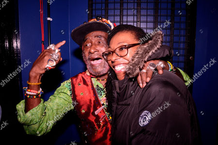Editorial image of Lee Scratch Perry & Carroll Thompson - 80th Birthday Celebration - Live At The Electric, Brixton, London, Britain - 12 Mar 2016