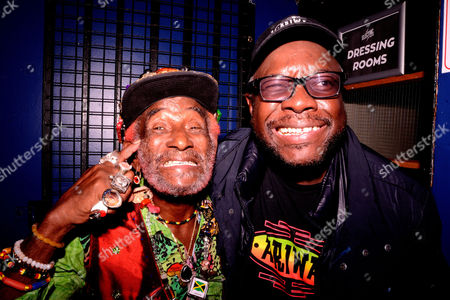 Stock Picture of Lee Scratch Perry & Mad Professor - 80th Birthday Celebration - Live At The Electric