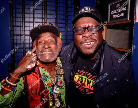 Stock Photo of Lee Scratch Perry & Mad Professor - 80th Birthday Celebration - Live At The Electric