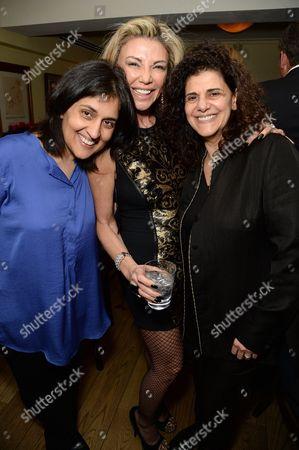 Shamim Sarif, Lisa Tchenguiz Imerman and Hanan Kattan