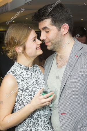 Stock Photo of Lucy May Barker and Simon Lipkin (Lou Lubowitz)