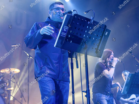 Editorial photo of Paul Heaton and Jacqui Abbott in concert at the O2 Academy, Glasgow, Scotland, Britain - 14 Mar 2016