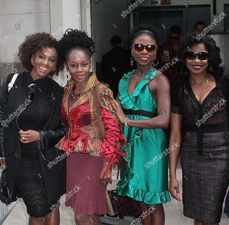 Saycon Sengbloh, Akosua Busia, Zainab Jah and Pascale Armand
