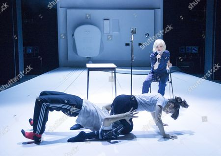 Editorial photo of 'If You Kiss Me, Kiss Me' performance conceived by Jane Horrocks and Aletta Collins, performed at the Young Vic Theatre, London, Britain - 15 Mar 2016