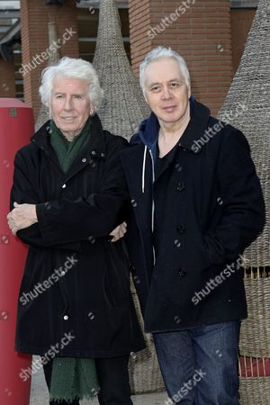 Stock Picture of Graham Nash and Shane Fontayne