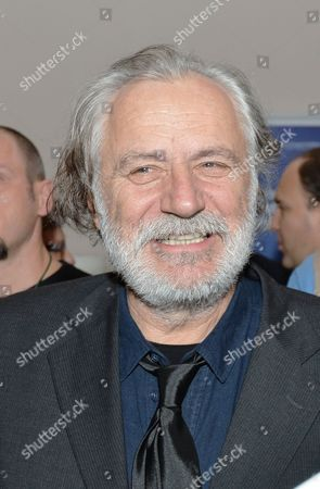 Actor Rade Serbedzija during a reception for the British Council at the Arts and Crafts Museum in Zagreb
