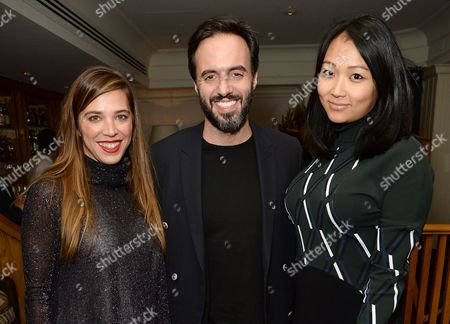 Daniela Cecilio, Jose Neves and Veronica Chou