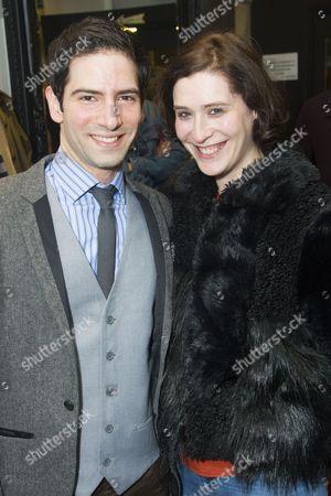 Stock Image of Niv Petel (Rameses) and Charlotte Westenra
