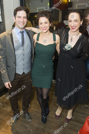 Stock Picture of Niv Petel (Rameses), Danielle Bird (Miriam) and Antonia Davies (Aviva)