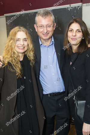 Maryam d'Abo, Gary Sinyor (Author/Director) and Gina Bellman