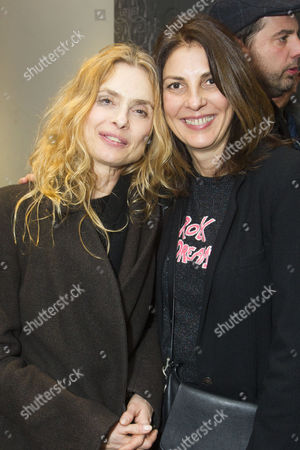 Maryam d'Abo and Gina Bellman
