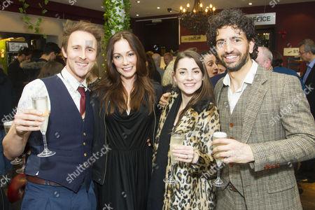 Peter Caulfield, Anna Skellern, Lucy Nooshin and Greg Barnett (NotMoses)