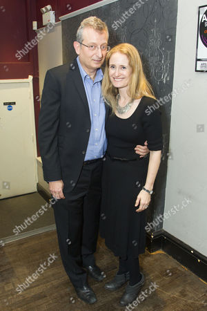Stock Picture of Gary Sinyor (Author/Director) and Lisa Sinyor