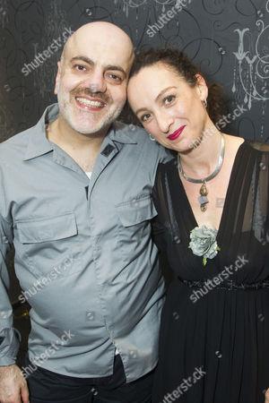 Stock Image of Dana Haqjoo (Pharaoh) and Antonia Davies (Aviva)