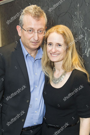 Stock Image of Gary Sinyor (Author/Director) and Lisa Sinyor