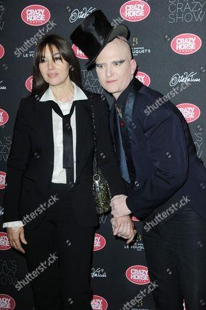 Monica Bellucci and Ali Mahdavi
