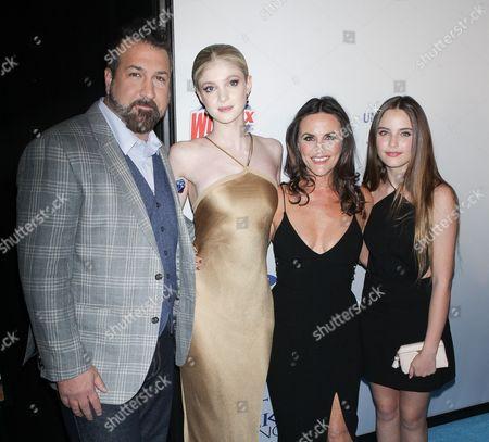 Joey Fatone, Elena Kampouris, Gia Carides and Bridget LaPaglia