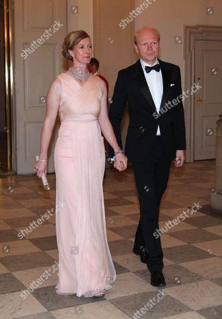 Princess Nathalie of Sayn-Wittgenstein-Berleburg and Alexander Johannsmann