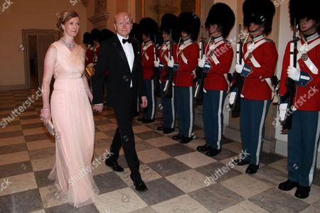 Editorial image of Danish Royals at Art and Culture gala dinner, Christiansborg Palace, Copenhagen, Denmark - 15 Mar 2016