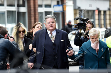 Robbie Coltrane and Julie Walters