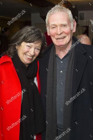 Marion Bailey and Karl Johnson