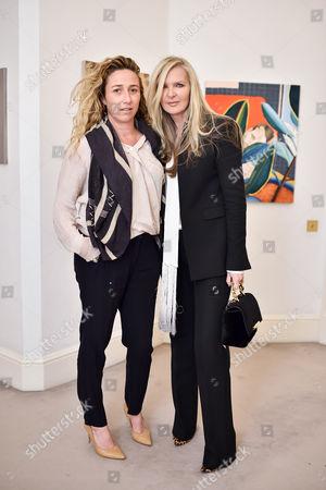 Amelia Troubridge and Amanda Wakeley