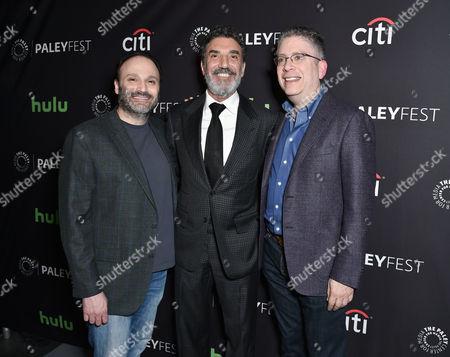 Steven Molaro, Chuck Lorre and Bill Prady