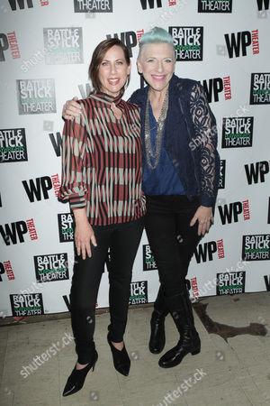 Miriam Shor and Lisa Lampanelli