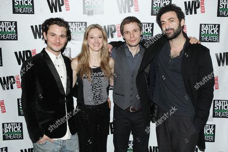 Editorial photo of 'Ironbound' play opening night, New York, America - 16 Mar 2016