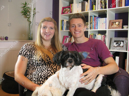 Stock Image of Rebecca Adlington and Harry Needs