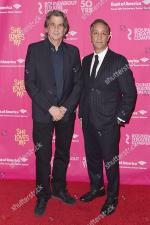 Stock Photo of David Rockwell and Jeff Mahshie