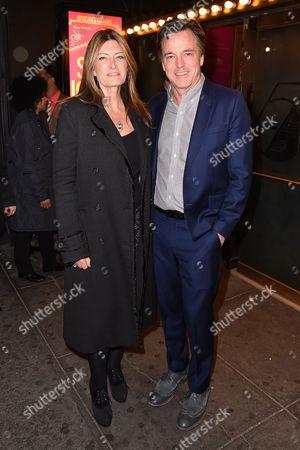 Leah Valek and Derek McLane