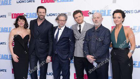 Editorial image of 'Eddie The Eagle' film premiere, London, Britain - 17 Mar 2016