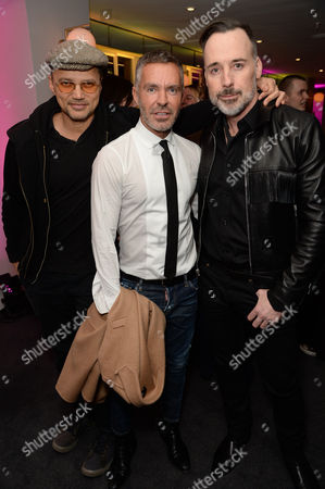 Stock Picture of Gerry DeVeaux, Dean Caten and David Furnish