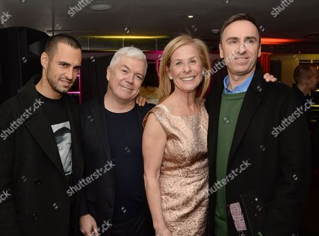 Jean-Georges d'Orazio, Tim Blanks, Jo Levin and Raf Simons