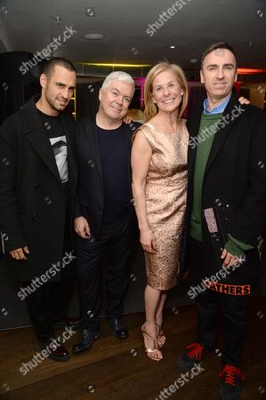 Editorial picture of OdeJo fragrance launch at Harvey Nichols, London, Britain - 17 Mar 2016
