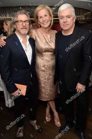 Stock Picture of Jeff Lounds, Jo Levin and Tim Blanks