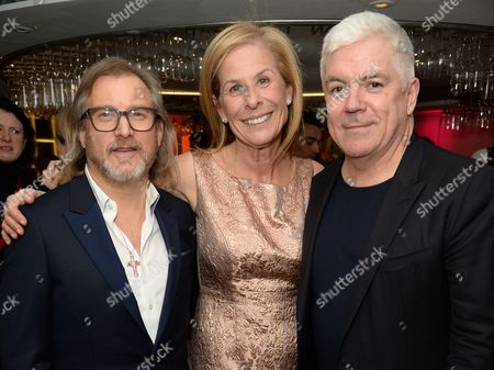 Jeff Lounds, Jo Levin and Tim Blanks